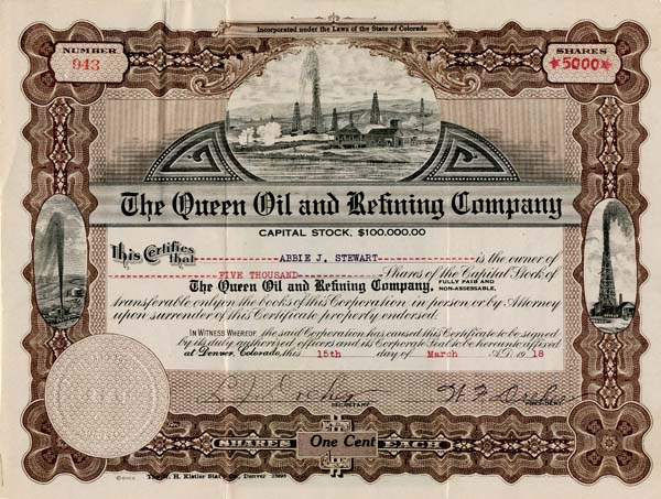 Queen Oil and Refining Company